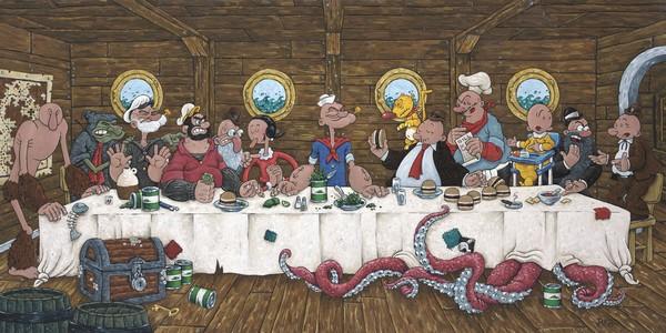 versiones de la ultima cena