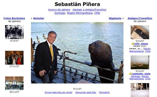 Fotolog Piñera