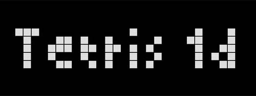 Tetris 1D